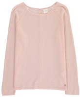 Des Petits Hauts Denisette Fine Merino Wool Jumper with Back Button Detail