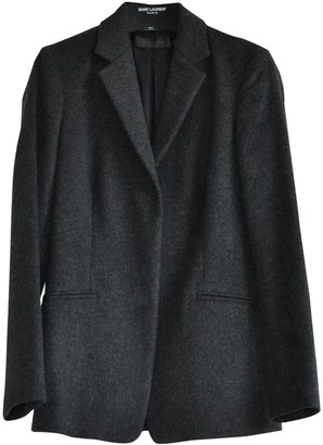 Calvin Klein Collection Anthracite Wool Jacket for Women
