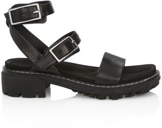 Rag & Bone Shiloh Lug-Sole Leather Sandals