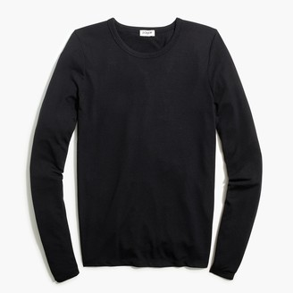 J.Crew Long-sleeve athleisure tie-back tee
