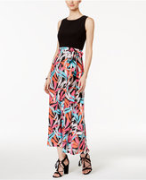 Nine West Printed Maxi Dress