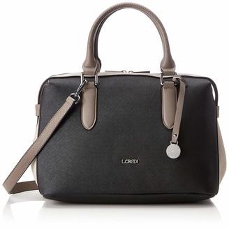 L.Credi Women's 309-7287 Bowling Bag Grey Grey (Stone 23)
