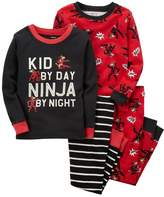 Carter's Toddler Boy 4-pc. Pajamas Set
