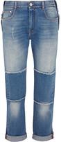 Stella McCartney Patchwork Boyfriend Jeans - Mid denim