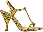 L'Autre Chose Lautre Chose LAutre Chose Sandals In Yellow Leather