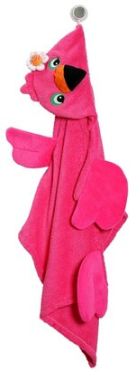Zoocchini Toddler Towel, Franny The Flamingo