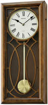 Seiko Brown Wooden Wall Clock With Pendulum AndMelodies Brown Clock Qxm343blh