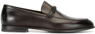 Bally Logo-Plaque Loafers