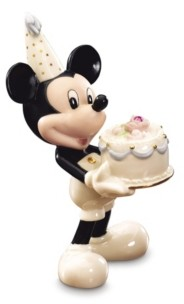Lenox Birthstone Mickey October Figurine