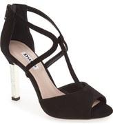 Dune London 'Melody' Crystal Heel Sandal (Women)