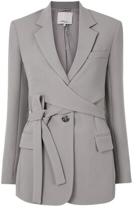 3.1 Phillip Lim Single-Breasted Wrap Blazer