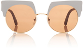 Marni Graphic Sunglasses