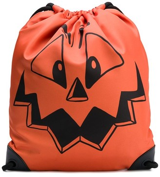 Moschino pumpkin face backpack
