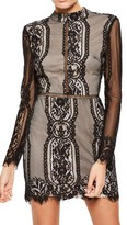 Missguided Women's Open Back Lace Dress