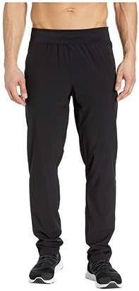 Jockey Active Woven Training Pants (Black) Men's Workout