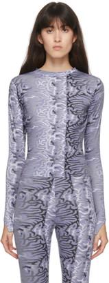 MAISIE WILEN Purple Body Shop T-Shirt