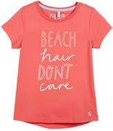 Joules Beach Hair Don't Care Short-Sleeve Tee, Size 3-10