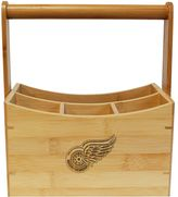 Detroit Red Wings Bamboo Utensil Caddy