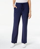 Karen Scott Drawstring Pants, Only at Macy's