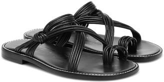 Loewe Paula's Ibiza leather sandals