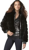 Jacket, Faux Fur Quilted