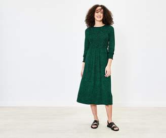 Oasis Ditsy Print Midi Dress