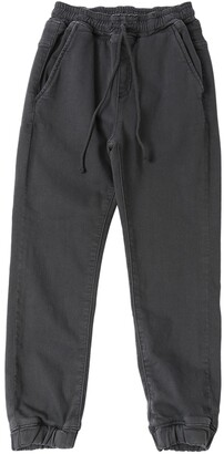Finger In The Nose Stretch Cotton Sweatpants
