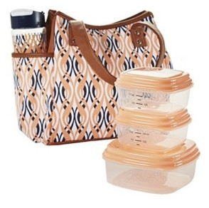 Fit & Fresh Westerly Insulated Lunch Bag Kit