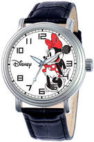 Mickey Mouse & Minnie Mouse Women's Watches - Black Minnie Mouse Watch