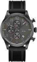Head Unisex Black Strap Watch-He-007-04