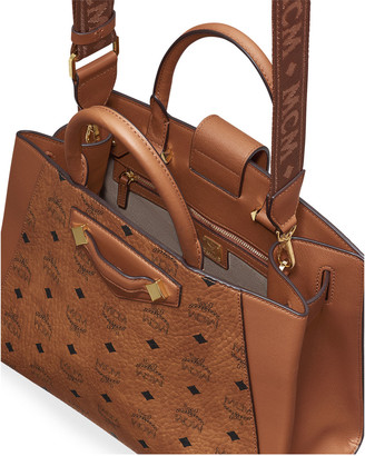 MCM Essential Visetos Original Medium Tote Bag