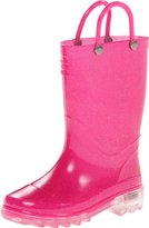 Western Chief Light-Up Solid Rain Boot (Toddler/Little Kid)