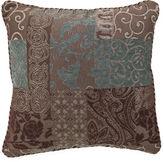 Croscill Classics Catalina Brown Square Decorative Pillow
