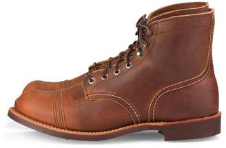 Red Wing Shoes Iron Ranger 8085 Copper R T Boots - US 07.5 - EU 40 - CM 25.5 - Brown