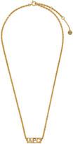 A.P.C. Gold Noa Necklace