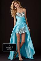 Alyce Paris Black Label - 5432 Dress in Turquoise