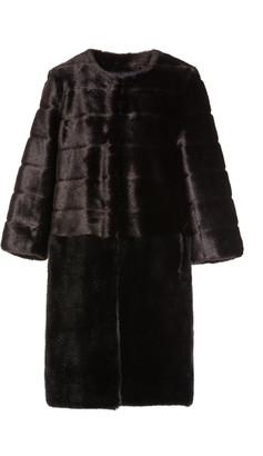 FAZ NOT FUR Omega Faux-Fur Coat