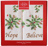 Lenox Set of 2 Holiday Fingertip Towels