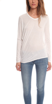 Helmut Lang Curve Long Sleeve Kinetic Tee