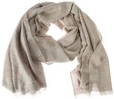 Brunello Cucinelli Sequinned Cashmere And Silk Scarf