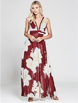 GUESS by Marciano Women's Sweet Nothings Print Maxi Dress