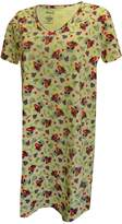 Amanda & Zoey Tropical Banana-licious Plus Size Night Shirt for women