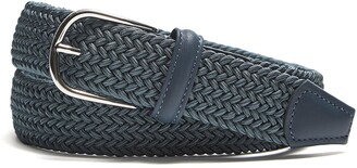 Andersons Blue Woven Elastic Belt