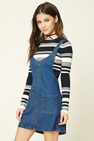 Forever 21 Zip-Front Overall Dress