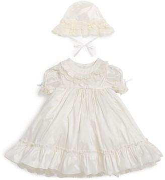 Sarah Louise Silk Christening Dress