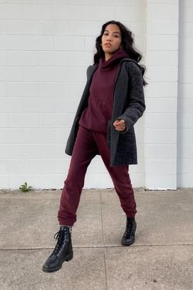 Thakoon Wool Blend Hooded Coat