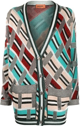 Missoni Abstract Pattern Cardigan