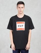 HUF Poster Box Logo S/S T-Shirt