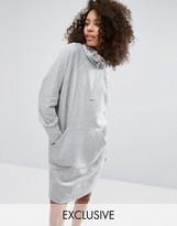 Monki Front Pocket Mini Sweat Dress