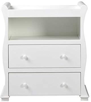 East Coast Nursery East Coast Alaska Sleigh Dresser, White